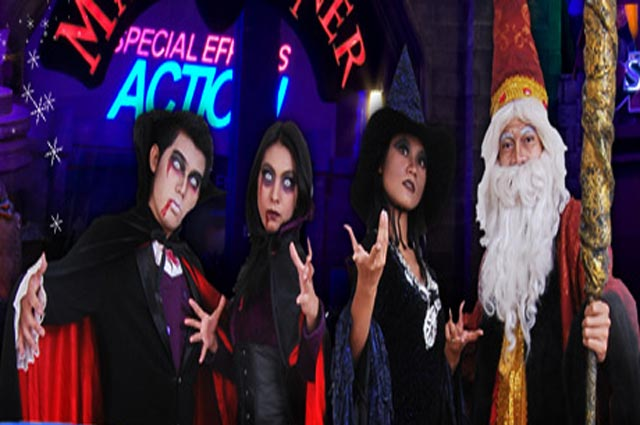 Magic Corner zon taman tema Trans Studio Bandung