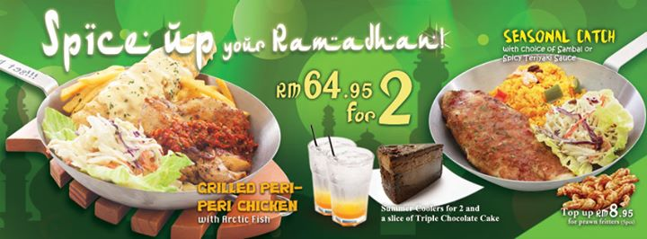 Buffet ramadhan murah dari  Fish & Co