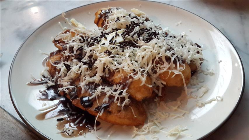 Pisang Goreng Cheese
