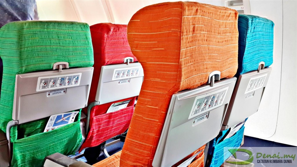 Rayani Air Kota Bharu Colour seat