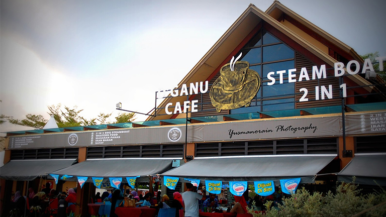 D'Ganu Cafe Steamboat 2 in 1