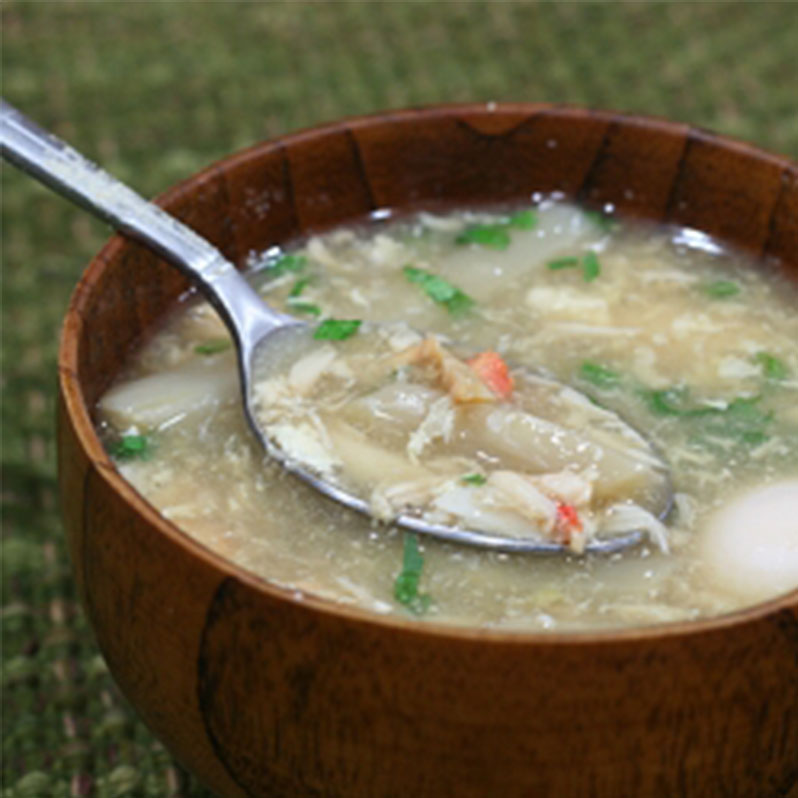 Chinese Crab Meat Soup